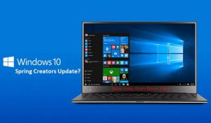 Update Windows 10 Spring Creators